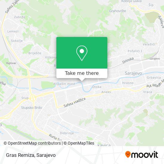 Gras-Remiza map