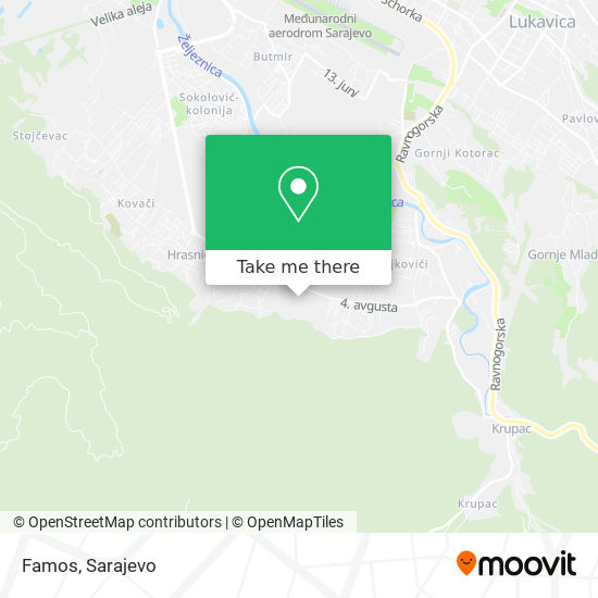 Famos map