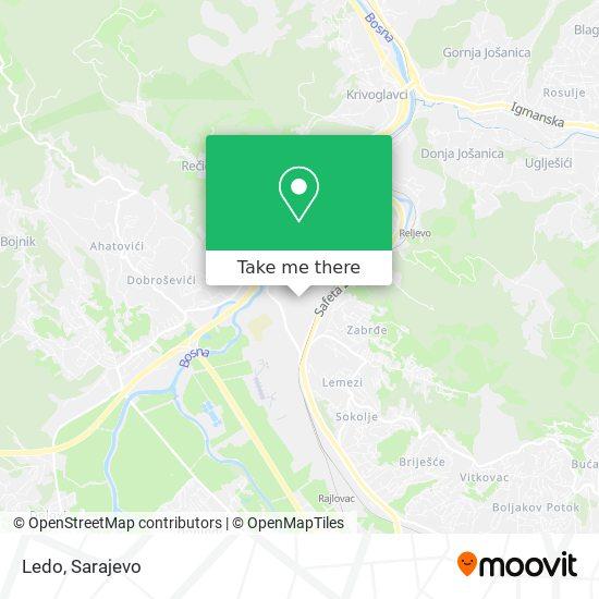 Ledo map