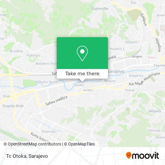 Tc Otoka/Pijaca Zatvorena map