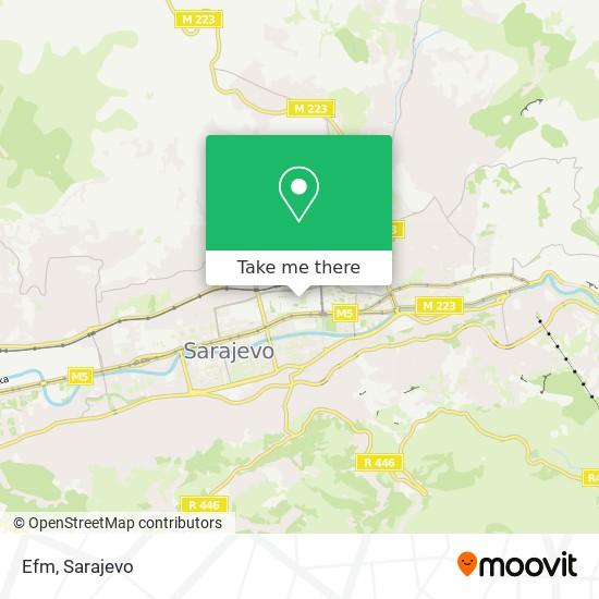 Efm map