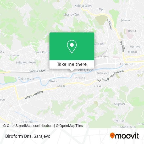Biroform Dns map