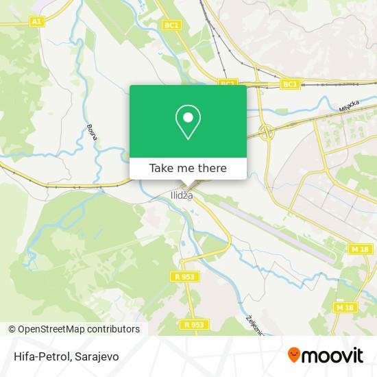 Hifa-Petrol map