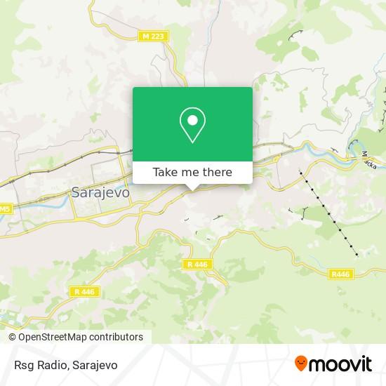 Rsg Radio map
