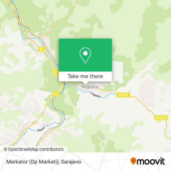 Merkator (Dp Marketi) map