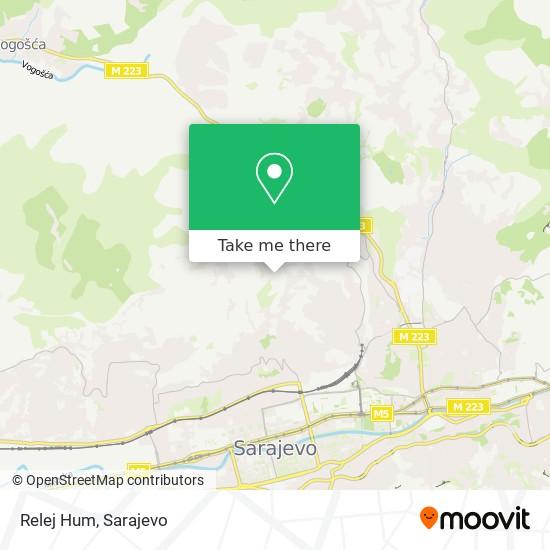 Relej Hum map