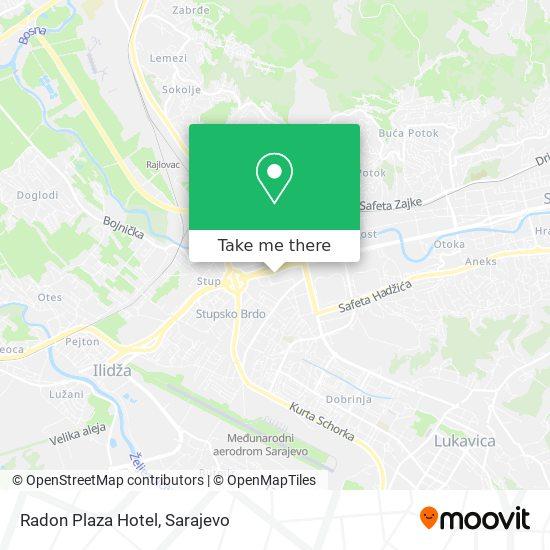 Radon Plaza Hotel map