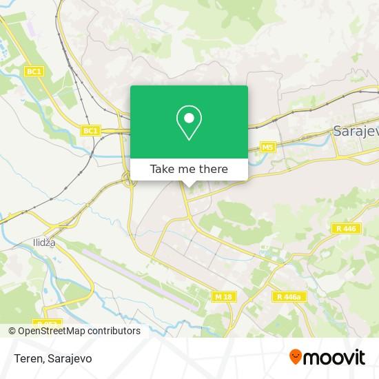 Teren map