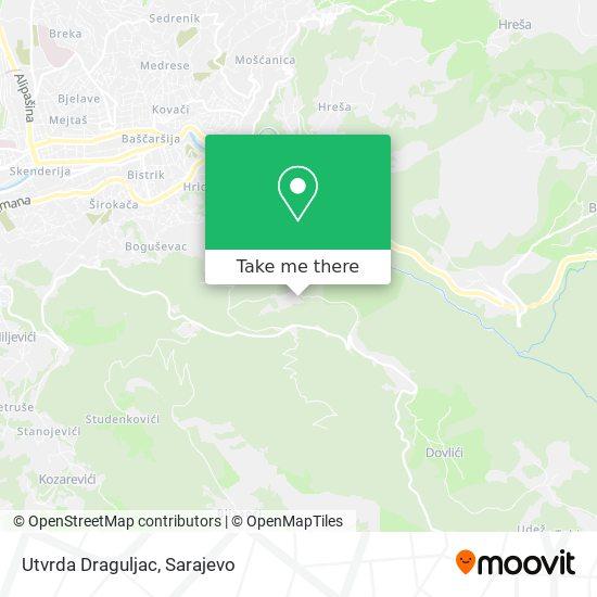 Utvrda Draguljac map