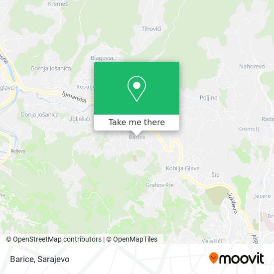 Barice map