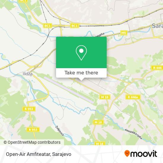 Open-Air Amfiteatar map