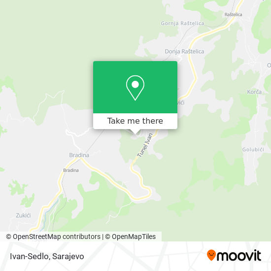 Ivan-Sedlo map