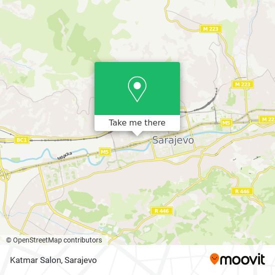 Katmar Salon map