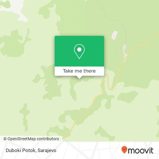 Duboki Potok map