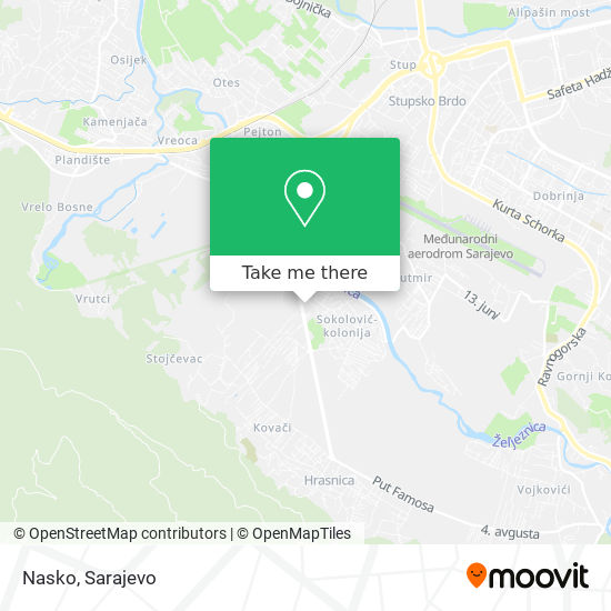 Nasko map
