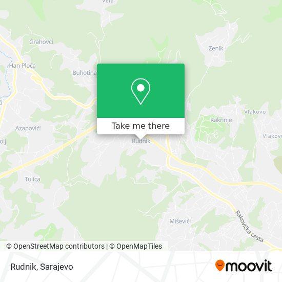 Rudnik map
