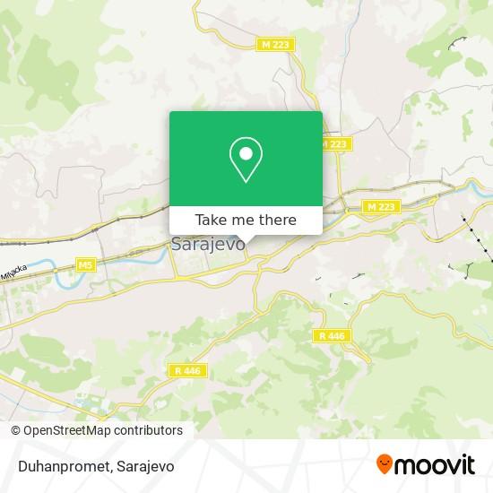 Duhanpromet map