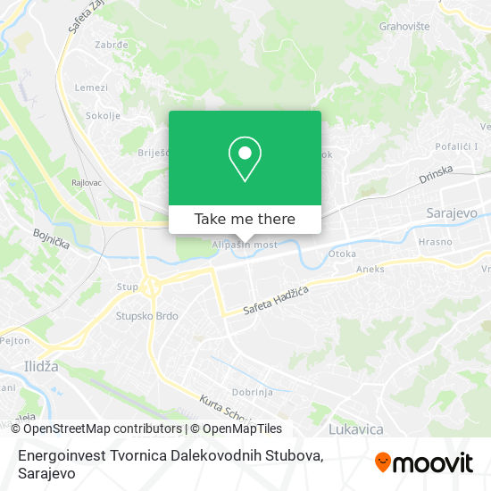 Energoinvest Tds map