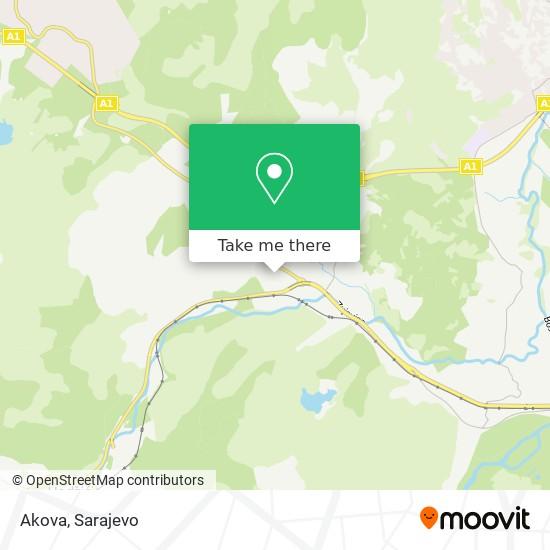 Akova map