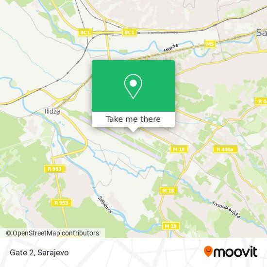 Gate 2 map