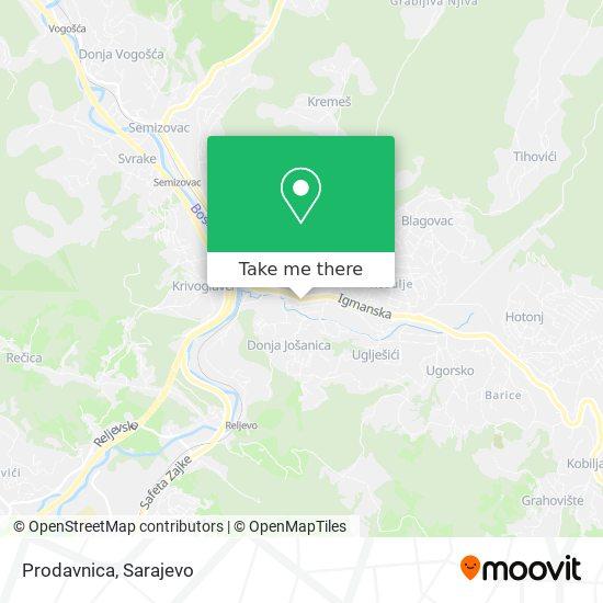 Prodavnica map