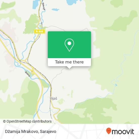 Džamija Mrakovo map