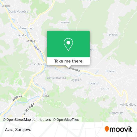 Azra map