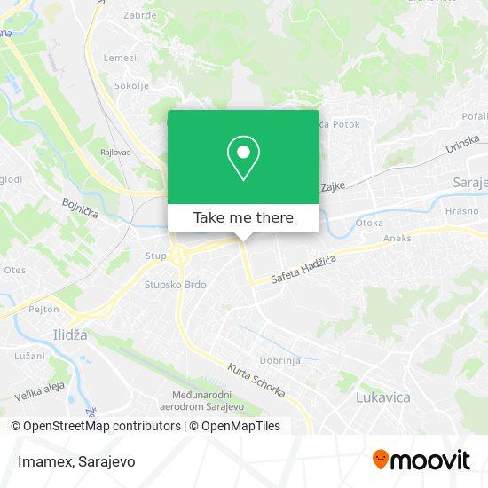 Imamex map