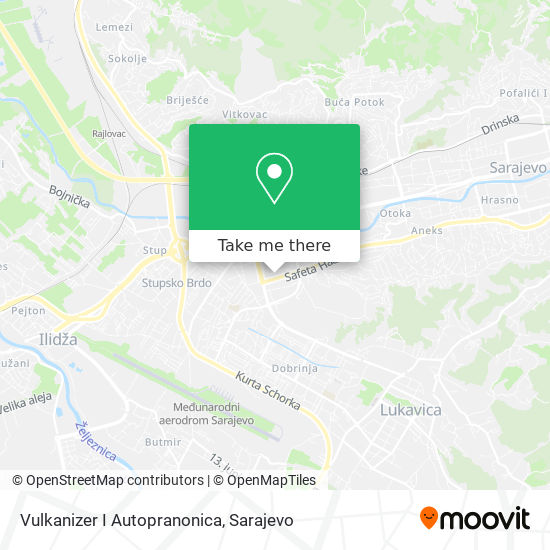 Vulkanizer I Autopranonica map