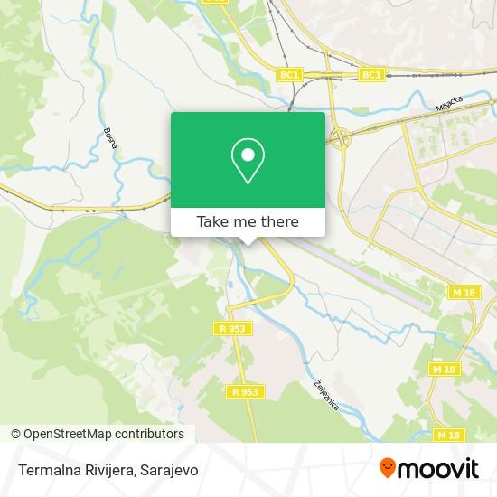 Termalna Rivijera map