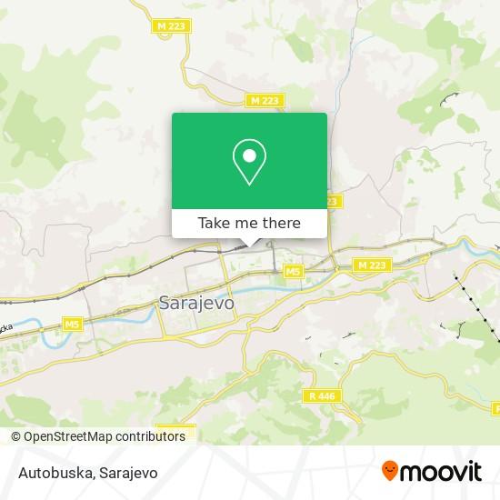 Autobuska map
