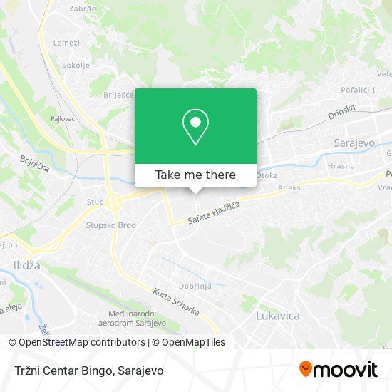 Tržni Centar Bingo map