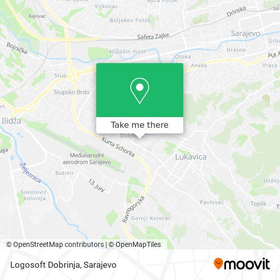 Logosoft Dobrinja map