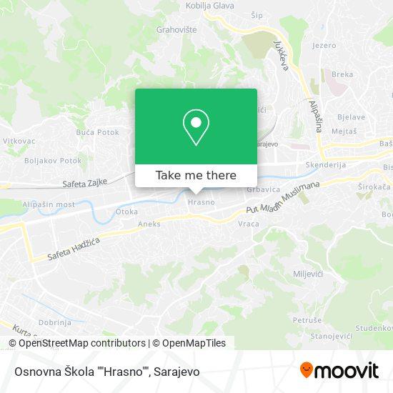 "O.Š. ""Hrasno"" map"