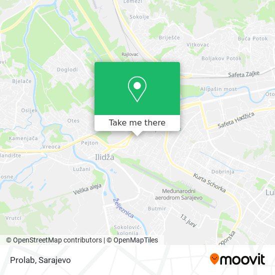 Prolab map