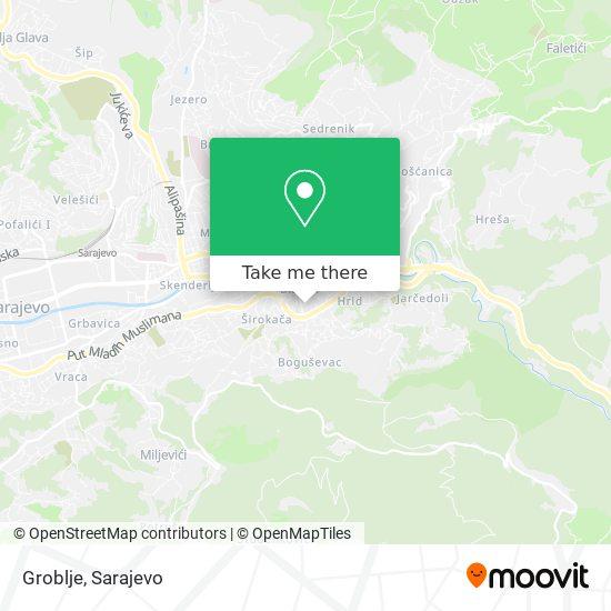 Groblje map