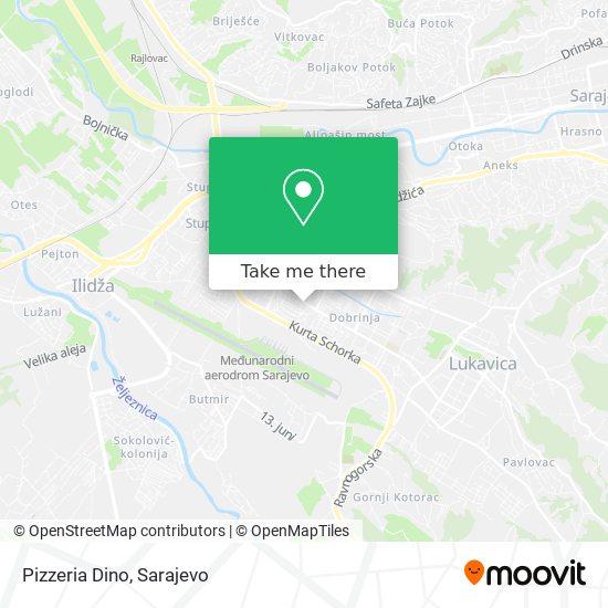 Pizzeria Dino map