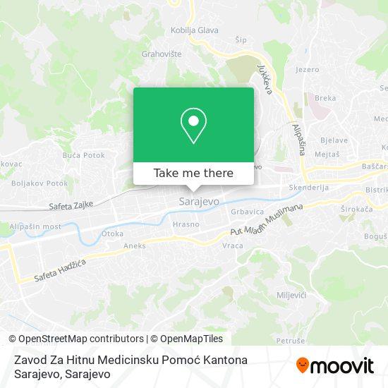 Hitna Pomoć map