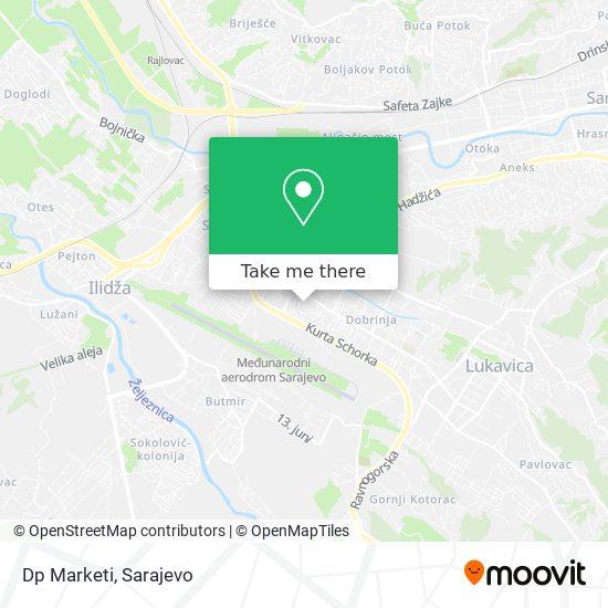 Dp Marketi map