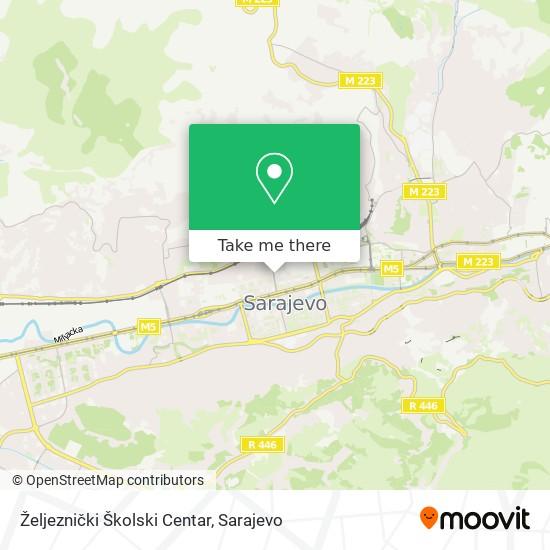 Željeznički Školski Centar map