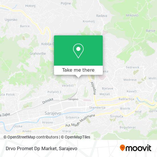 Drvo Promet Dp Market map