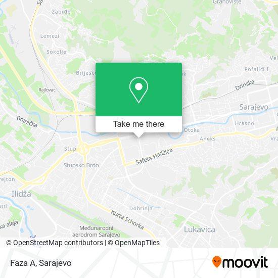 ,,A'' Faza map