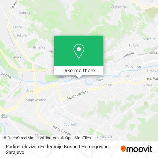 Rtvfbih map