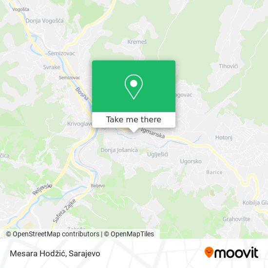 Mesara Hodžić map
