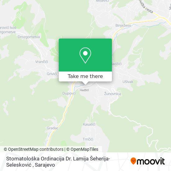 Stomatološka Ordinacija Dr. Lamija Šeherija-Selesković map