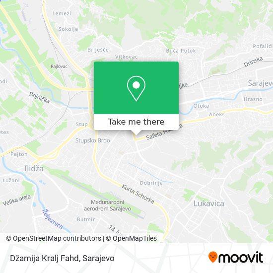 Dzamija Kralja Fahda map