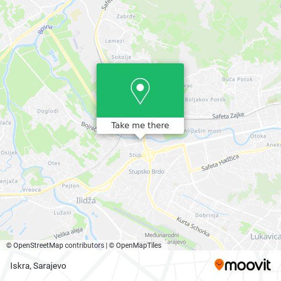 Iskra map
