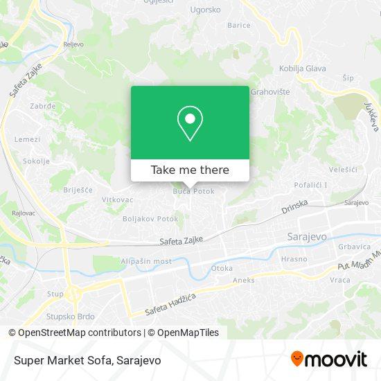 Super Market Sofa map
