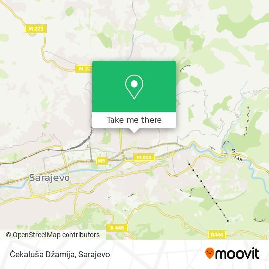 Čekaluša Džamija map