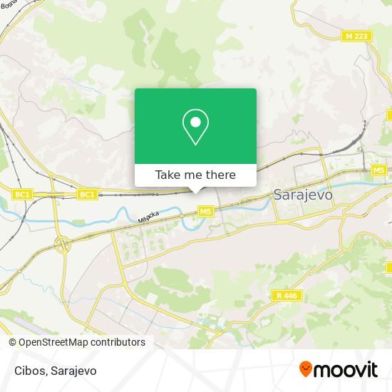 Cibos map